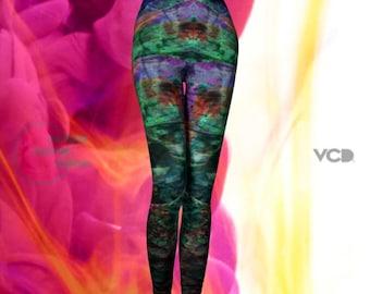 FESTIVAL Designer Leggings YOGA PANTS Women's Designer Leggings Festival Leggings Festival Pants Yoga Leggings Rainbow Fashion Leggings