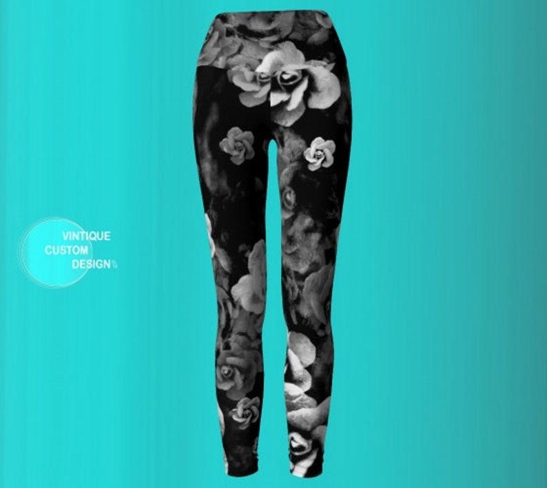 f9381019ad LEGGINGS DESIGNER Yoga Pants WOMENS Fashion Yoga Pants | Etsy