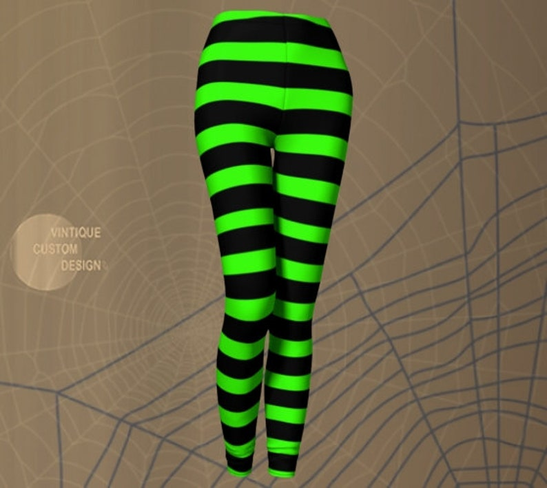 2cdfb5c2b Witch LEGGINGS Halloween Tights WOMENS Witch Stockings Wicked