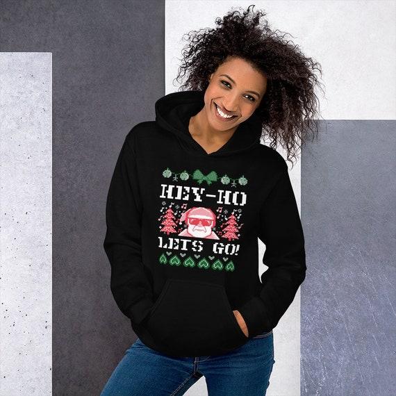 Santa CHRISTMAS HOODIE SWEATSHIRT Funny Hoodie for Men or Women Unisex Clothing Hoodie Sweater Christmas Funny Christmas Gift for Adults