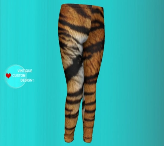 TIGER LEGGINGS for Girls and Boys Leggings Tiger Print Leggings Mommy and Me Outfit Girls Leggings Baby Leggings Toddler Matching Leggings