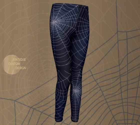 0c5004071 Spooky Fun and Cute HALLOWEEN Leggings for Boys and Girls - Spiderweb  Leggings - Cobweb Leggings - Halloween Costumes - Tights - Kids - Baby
