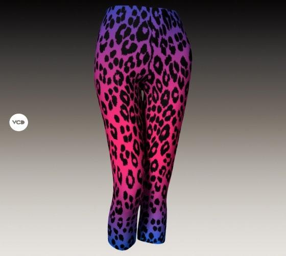 Cheetah Capri Leopard Print Leggings Womens Capri Pants Yoga Capri Leggings Yoga Pants For Women Designer Leggings Women S Capri Leggings