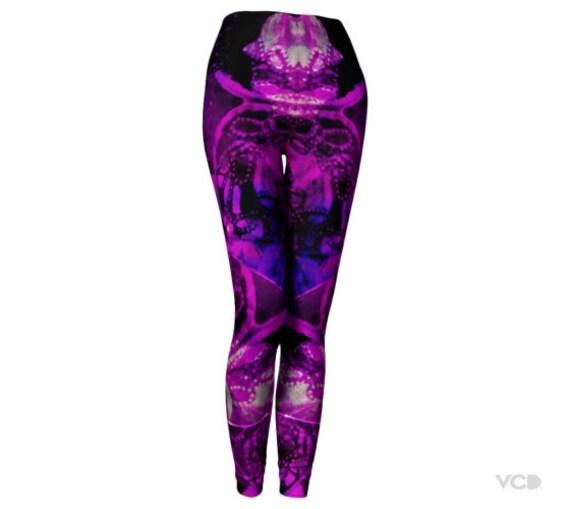 Rave Leggings Pants LEGGINGS Leggings Man Purple Womens Burning Yoga Print FESTIVAL Clothing Festival LEGGINGS Rave Clothing Clothing Sexy xpO7wSqS