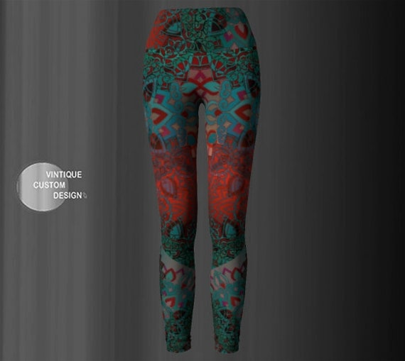 Womens Sacred Flower Clothing Print Leggings Leggings YOGA PANTS Leggings Geometry Festival Burning Lotus Sexy Man Sexy LEGGINGS Leggings caqgYWwBc
