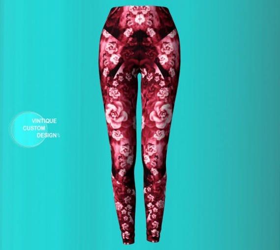 Sexy Clothing Yoga Leggings Steampunk LEGGINGS Yoga Print Leggings Womens Womens Futuristic PANTS Clothing YOGA Leggings Cyberpunk Leggings 5wfFp