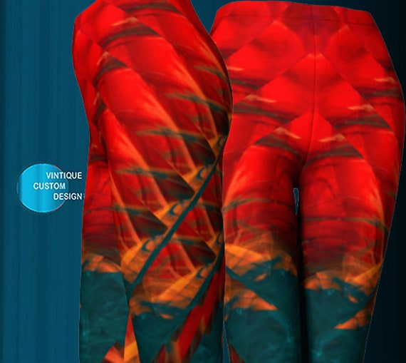 Rave Leggings Burning Man Clothing Festival Leggings Yoga Pants SEXY PRINT LEGGINGS Festival Fashion Colorful Art Leggings Sexy Yoga Pants