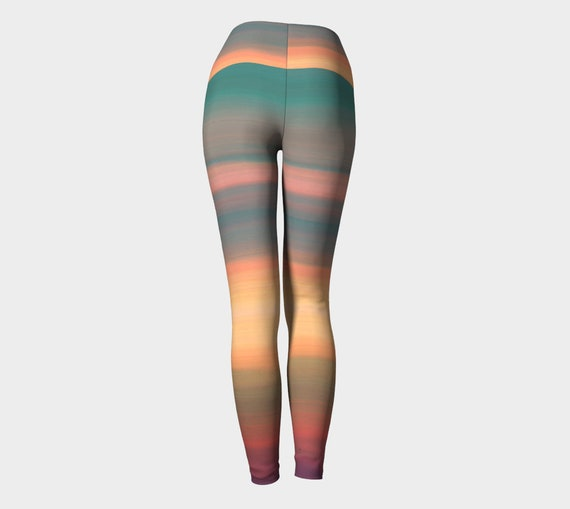 Women Leggings LEGGINGS YOGA Leggings for Painted Sexy Rainbow Yoga Leggings Womens Leggings Yoga Pants Print Tribal Workout Ombre PANTS wHzqFpR