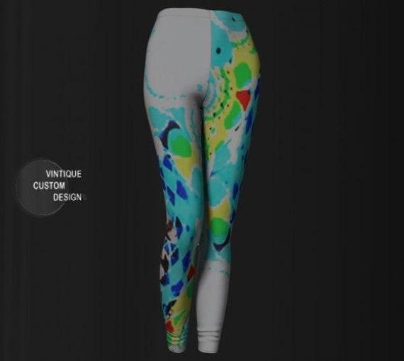 Womens LEGGINGS Yoga Pants Art Leggings Designer Printed Leggings YOGA LEGGINGS Work Out Leggings Fitness Clothing Soul Cycle Clothing Pants