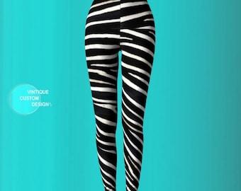 ZEBRA LEGGINGS for Women Sexy Print Leggings Sexy Womens Leggings Sexy Yoga Pants Womens Sexy Leggings Sexy Yoga Leggings Animal Print Pants