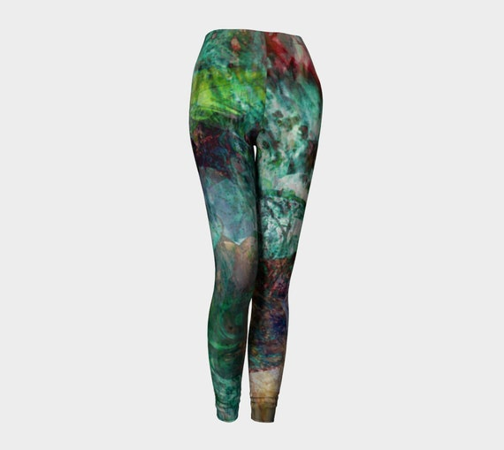 Leggings Sexy Leggings Art Painted Hippie PANTS Coachella Womens Print Leggings LEGGINGS Leggings Clothing YOGA Leggings Tribal qx0XwZ8Ff
