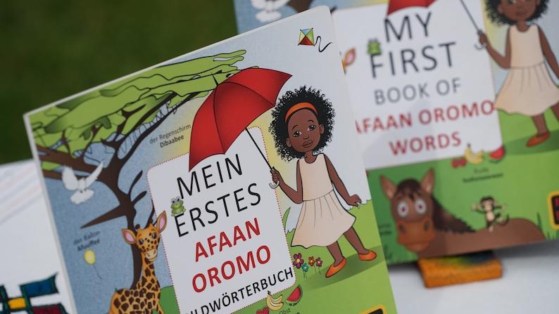 Mein Erstes Afaan Oromo Bildwörterbuch image 0