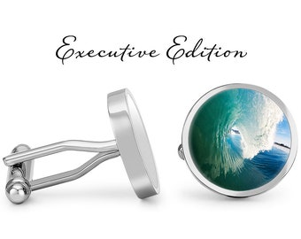 Details about  /Scuba Diver Cufflinks Silver Toned Ocean Reef Sea Fish Cuff Links