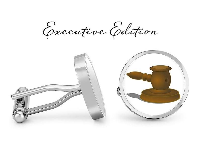 Pair Court Cuff Links Legal Cufflinks Judge Hammer Cufflinks Lifetime Guarantee Judge/'s Gavel Cufflinks S0552
