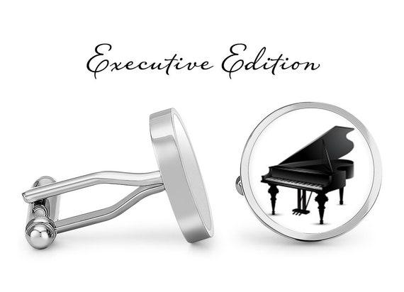 Piano Keys Cufflinks Cuff Links Brand New Pianist