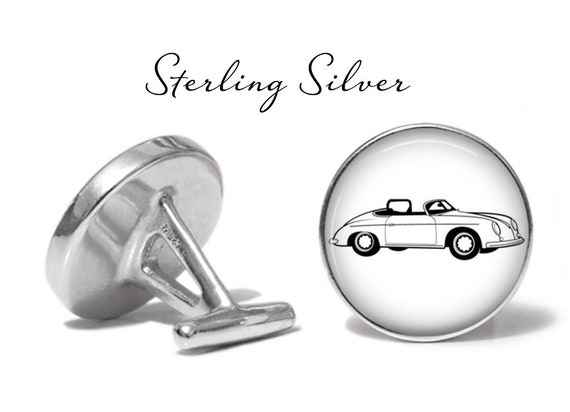 Solid Bronze Classic Roadster Cufflinks