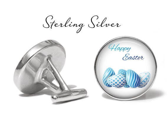 Angled Edition Oakmont Cufflinks Happy Easter Cufflinks Easter Eggs Cuff Links