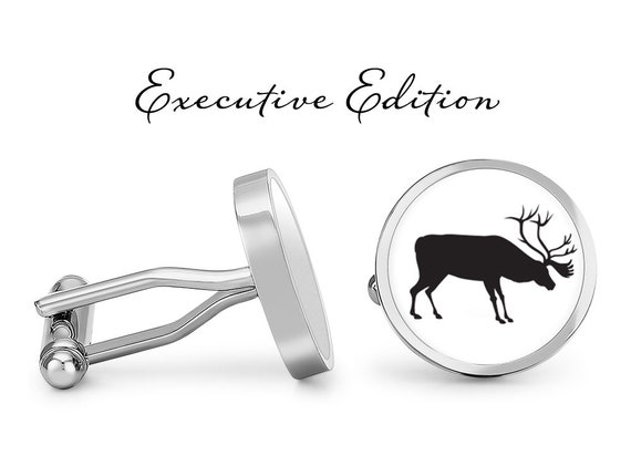 Oakmont Cufflinks Bull Cufflinks Bull Horn Cuff Links Solid Bronze