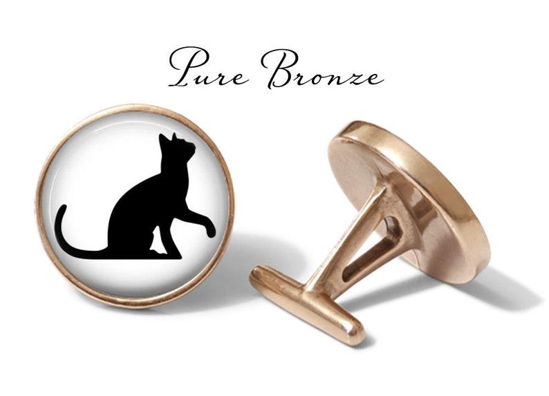Lifetime Guarantee Cats Cuff Links Playful Cat Cufflinks Cat Lover Cufflink Pair Cat Wedding Gift S0445