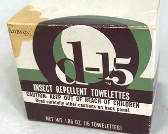 1959 Vintage 6-12 Insect Repellent Magazine ad