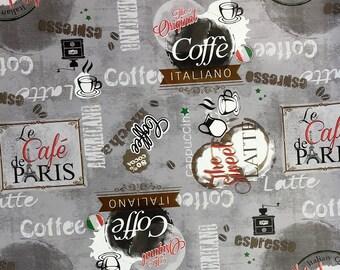 Wachstuch Tischdecke Coffee Italia Cafe de Paris K99B eckig rund oval