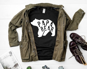 Papa Bear Shirt, Father's Day Gift, Papa Bear, Father Gift, Papa Bear Tee