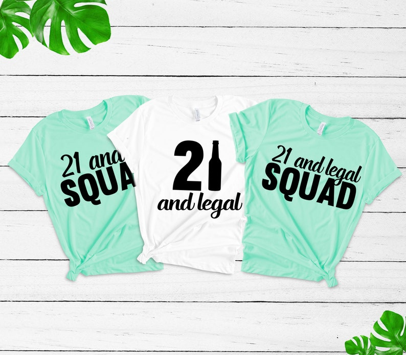 21st Birthday Tshirt Girl Shirt21 Legal