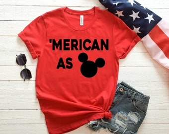 Disney 4th of July, 4th of July Shirt, Castle Shirt, Fireworks Shirt, Fourth of July Shirt, Red Shirt