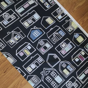 Drape in thick cotton fabric design by P Amsell B Wesslander for IKEA of Sweden AB 2008.