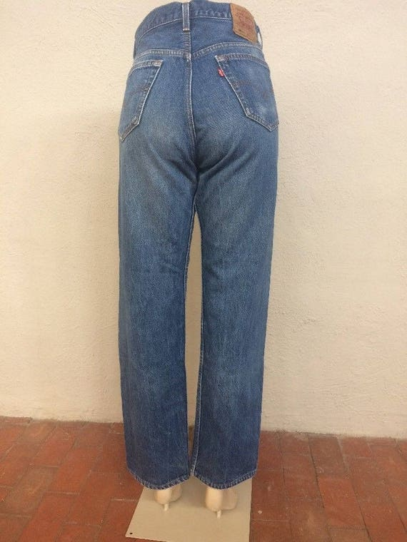Levi's ~ 33x31 usa 90s ~ 33 Boyfriend Button 32 Waisted size Jeans Blue Vintage ~ 501 ~ Mom ~ High made in Fly ~ 5527 Denim Normcore ~ Sdwxprd
