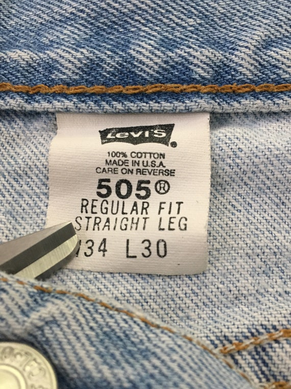 Jeans size 90s Boyfriend ~ 31 Levi's Super High 31 Vintage Hipster 709 usa ~ ~ ~ ~ in Denim ~ Boho Waisted Light Festival made 505 Wash 5x29 X4X6Y