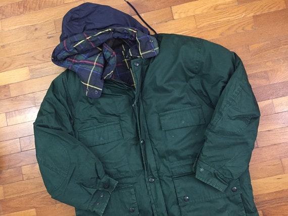 90s Nautica Duck Down Green Puffer Jacket size XL