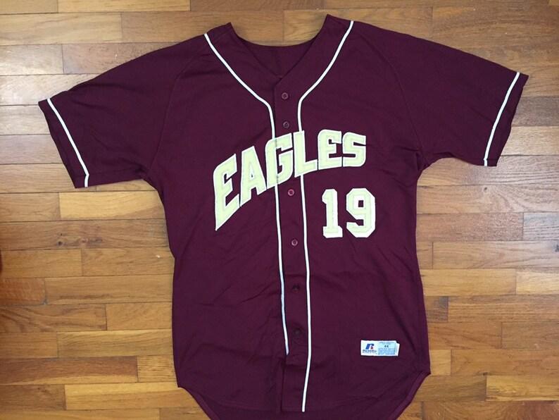 the best attitude ac1c1 3d8d9 vtg Boston College Eagles Baseball Jersey size LARGE ~ 19668