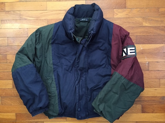 90s Nautica Expedition Down Puffer Reversible Jack
