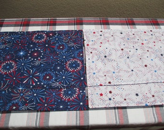 Fireworks and Stars Placemats