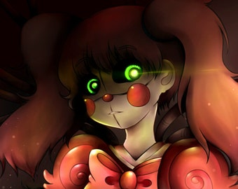 Five Nights At Freddy's Sister Location 11x17 Large Print