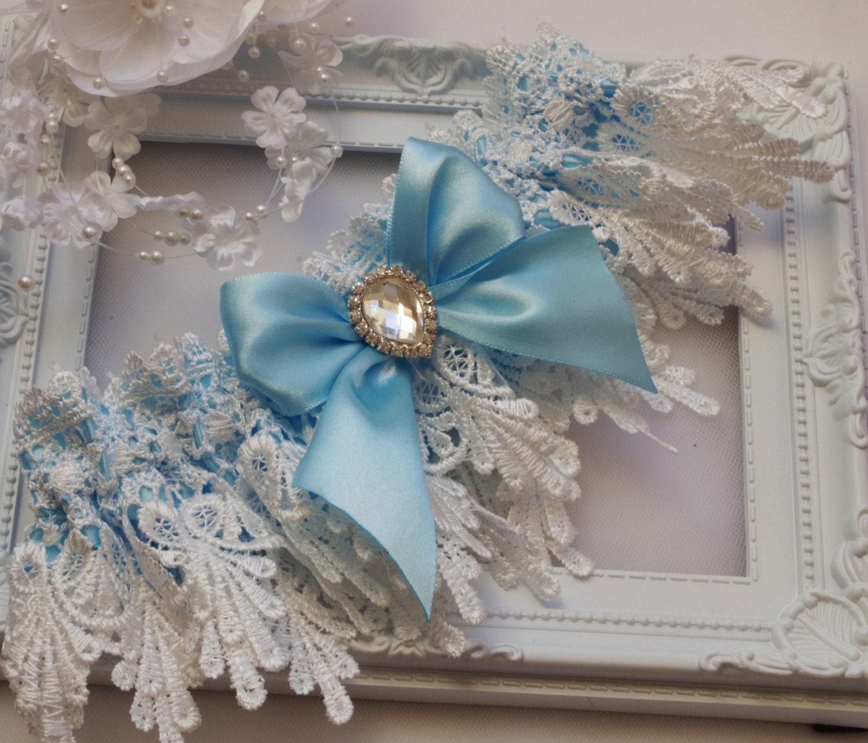 Blue Wedding Garter Uk: Blue Garter Blue Wedding Garter Blue Lingerie Garters Bridal