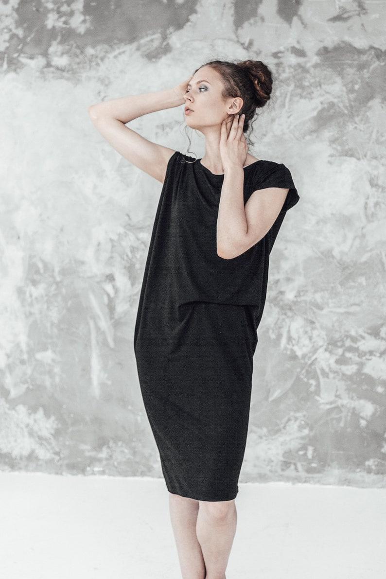 Minimalist Black Great Gatsby dress Plus size formal dress | Etsy