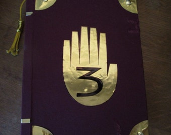 Gravity Falls, Journal 3, Replica with 32 Pages, Handmade, A5, English