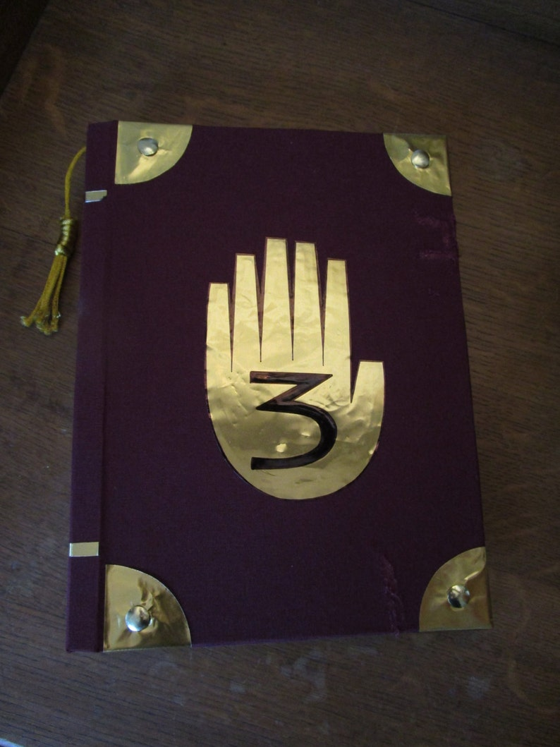 Gravity Falls Journal 3 Replica with 32 Pages Handmade A5 image 0