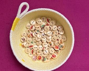 Large Trinket Bowl- Cotton Rope Bowl