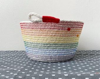 Rainbow Bucket Bowl