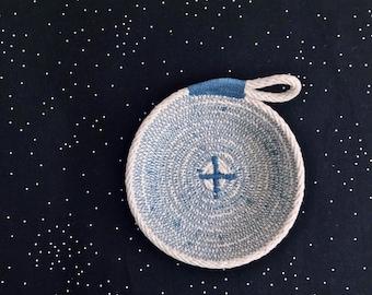 Trinket Bowl- Cotton Rope Bowl