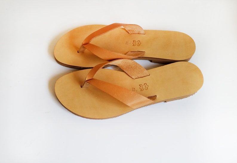 c13d1e7cdea81 Leather Flip Flop slides in variety of colours / Metallic sandals / Greek  sandals / thongs /sandals / slides / flip flops / leather sandals