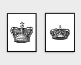 King And Queen Etsy