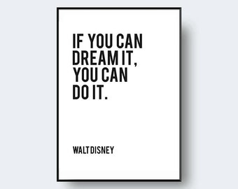 If You Can Dream It Etsy