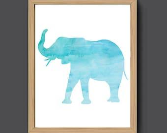 Elephant Wall Art Etsy