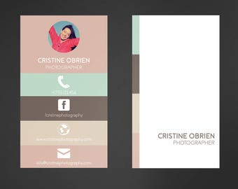Business Card Template   Printable Business Card Design, Business Card Template, Custom Business Card, Photoshop, Psd Business Card Design