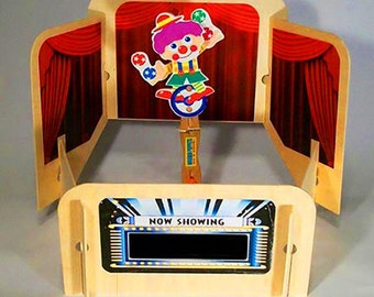 Puppet Theater- wooden table top style