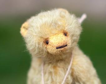 Kunstenaar teddybeer, mohair teddy bear, teddy bear OOAK Beer, Syomushka